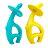 Mombella 跳舞象固齒器(藍 / 黃)★衛立兒生活館★ 0