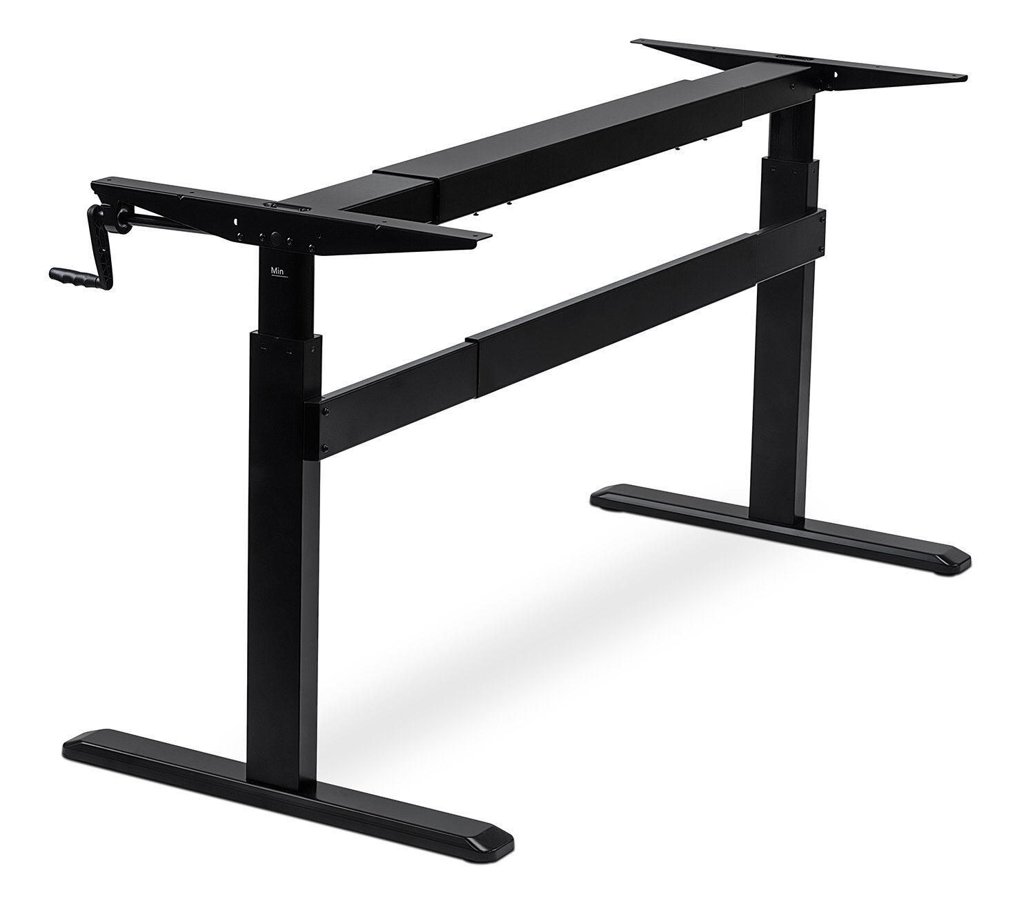 store to up crank stand steel sit product desk adjustable