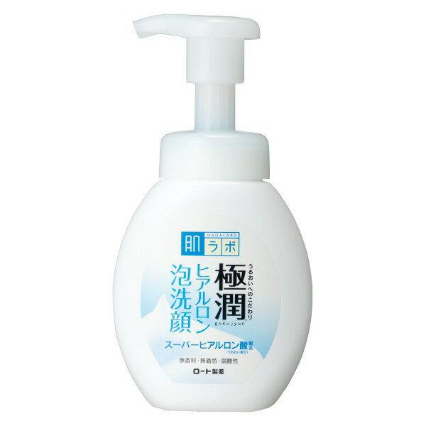 ROHTO肌研極潤保濕泡洗顏 卸妝+洗臉160ml