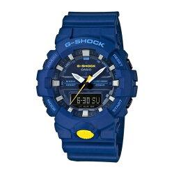 【時光鐘錶】G-SHOCK (GA-800SC-2A) 雙顯 防水 運動 錶