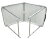 Folding Table Portable Plastic Picnic Party Dining Camp Table 4