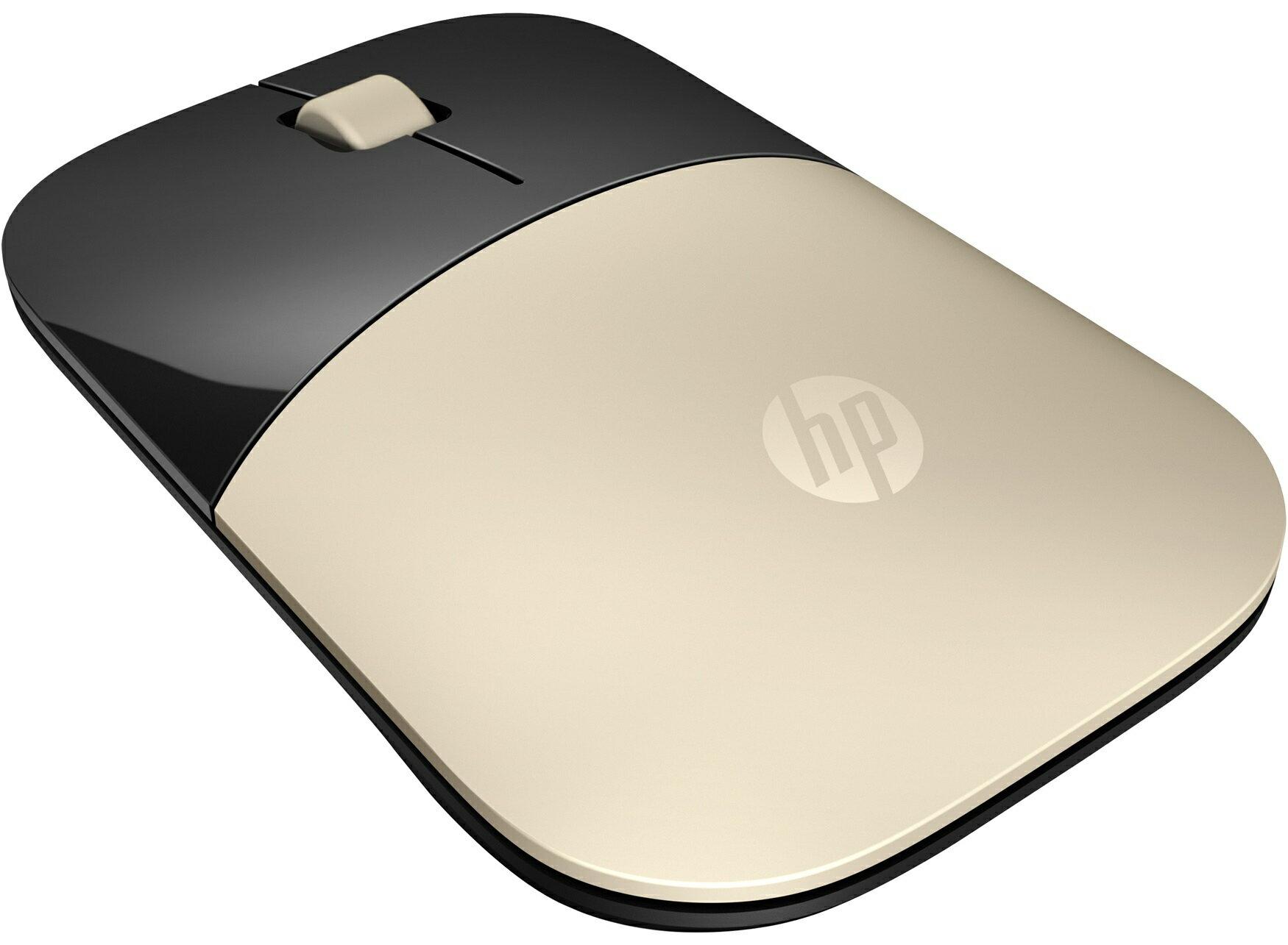 【點數最高16%】HP Z3700 X7Q43AA  Gold Wireless Mouse 無線滑鼠(金色)《免運》※上限1500點 1