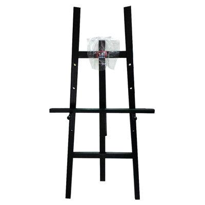 【文具通】4尺 約120cm 室內 黑色 原木 畫架 不含畫板需另購 每組皆附插銷可調整畫板高低 L3010518