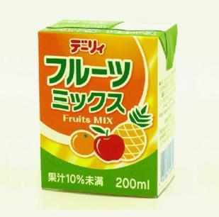 南日本酪農 綜合水果飲料200ml - 限時優惠好康折扣