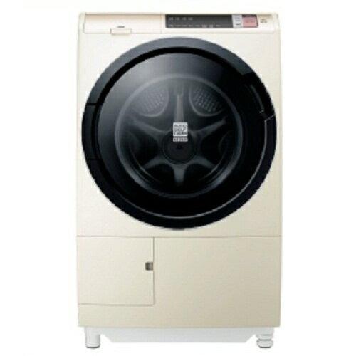 【HITACHI日立日本原裝】12.5公斤滾筒洗脫烘左開窄版洗衣機BDSV125AJN香檳金
