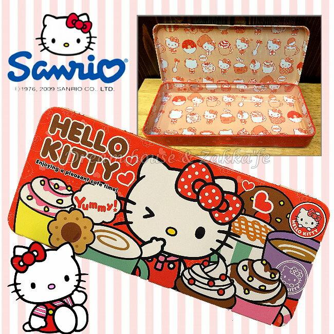 限定  sanrio 三麗鷗 Hello Kitty 金屬 鉛筆盒  小物置物盒  鐵盒 《 超可愛 》★ 夢想家 家飾 ★