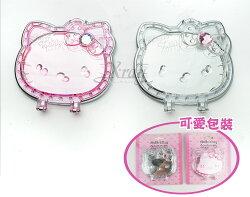 X射線【C04679A】Hello Kitty 隨身鏡(二款),鏡子/美妝/圓鏡/化妝鏡/摺疊鏡/桌上鏡//送禮
