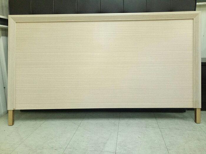 【尚品傢俱】※出清特賣自運價※ Q-SF-08 5尺白橡床頭片