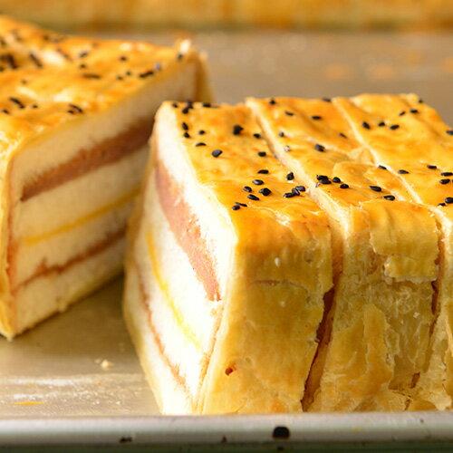 【拿破崙先生】法式花生醬豬排起酥三明治1條。☆野餐正夯☆上班這黨事推薦 2