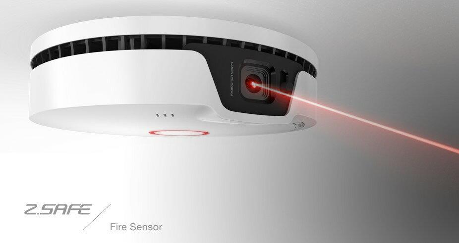 下殺3.8折 原價2830 限量450個 獨立式 火災煙霧偵測警報器 3D影片