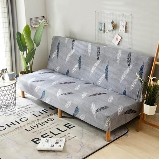 沙發套 折疊沙發床套沙發墊萬能全包無扶手雙人1.5三人1.8m彈力沙發套子 -交換禮物