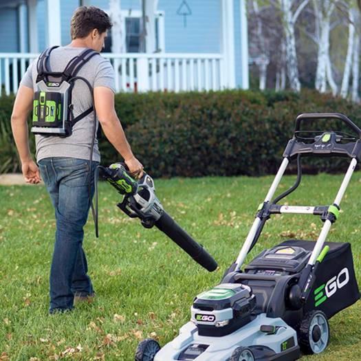 EGO吹風機無刷進口鋰電56V電動樹葉大風力充電除塵清掃馬路鼓風機