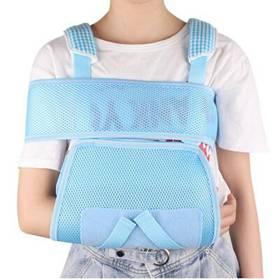 兒童前臂吊帶透氣手臂手腕骨折固定帶肩關節脫臼脫位固定護具護托