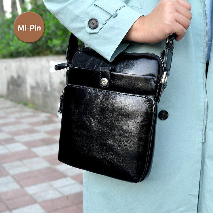 <br/><br/>  【平板專用】首爾設計【Mi-Pin】實用牛皮包-俐落扁身款<br/><br/>