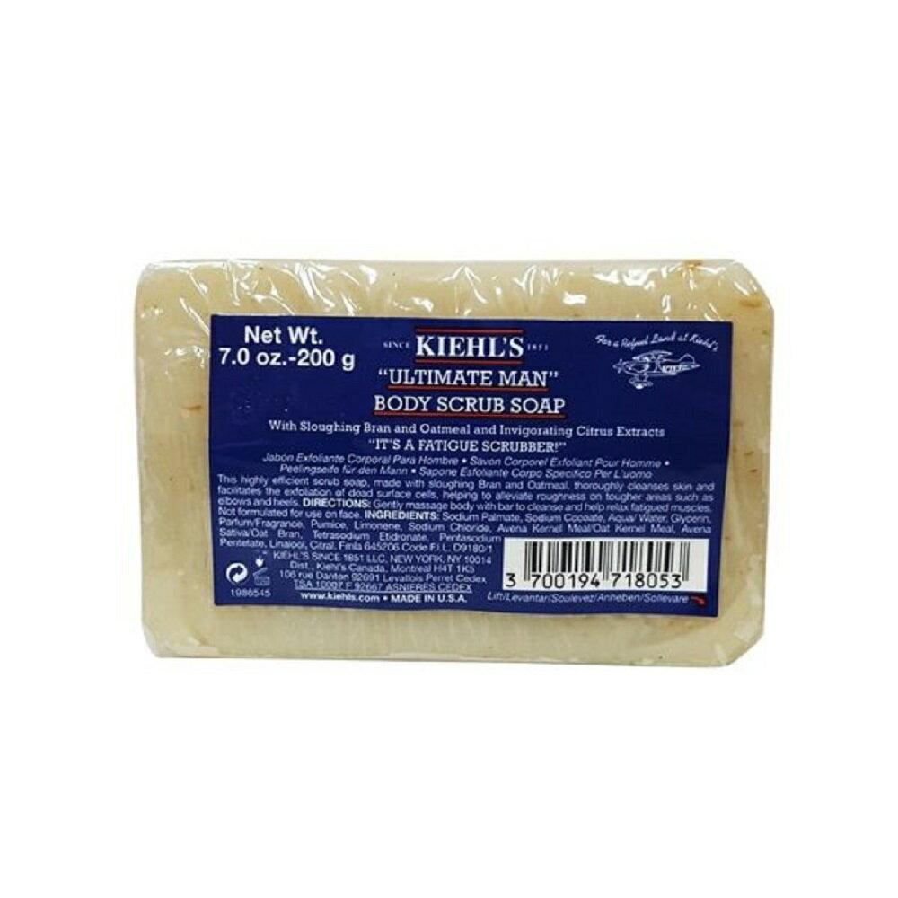 Kiehl's 契爾氏 極限男性燕麥去角質潔膚皂 200g