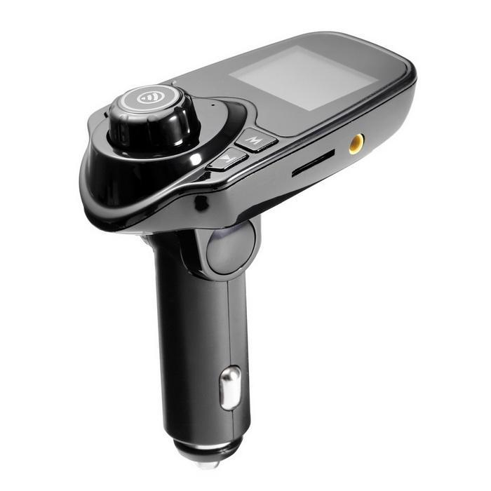 Bluetooth Car FM Transmitter Radio Adapter USB Charger MP3 Player 1