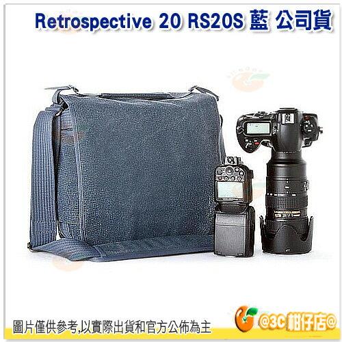 送佳麗寶拭鏡布  ThinkTank 創意坦克 Retrospective 20 RS20S RS20 藍色 復古側背包 相機包 彩宣公司貨 附雨衣套 EM10 EM5 D7100 D5200
