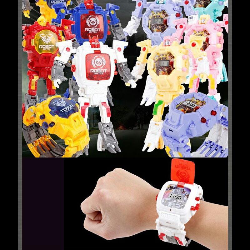 現貨 酷炫變形金剛電子手錶