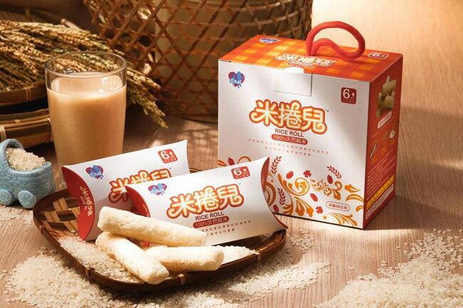 【新配方】米捲兒 100%天然純米餅/幼兒餅乾《純米+藜麥》