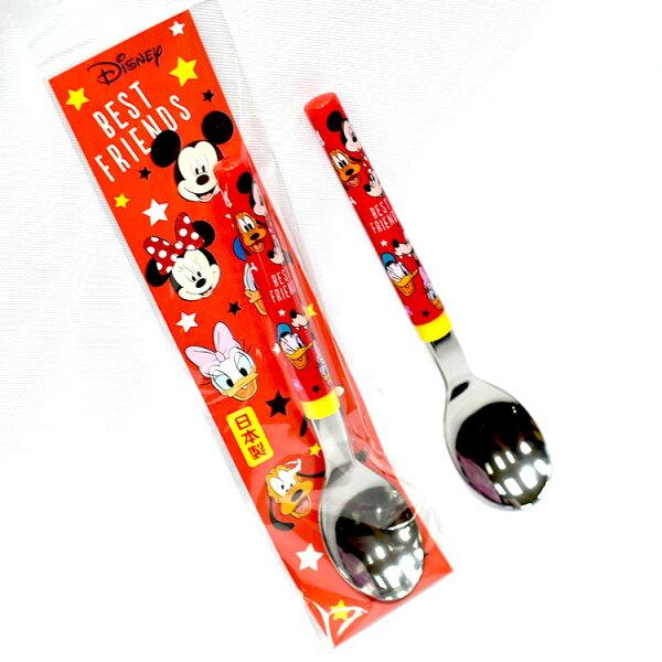 米奇米妮唐老鴨湯匙日本製迪士尼正版日本限定