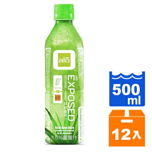ALO 雅姿樂-蜂蜜蘆薈汁 500ml (12入)/箱