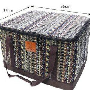 美麗大街【20107011531】韓國超大型民族風裝備袋收納箱