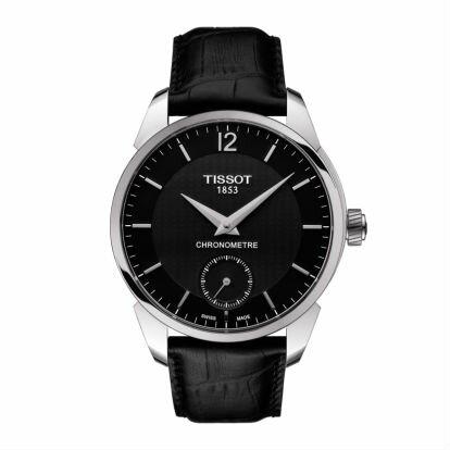 TISSOT天梭T0704061605700T-Classic簡約小秒針機械腕錶43mm