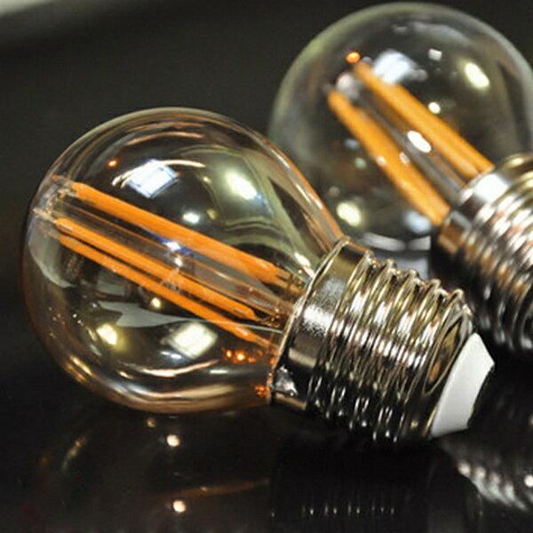 【威森家居】LED G45 E27 愛迪生燈泡 仿鎢絲復古懷舊省電節能特價照明光源環保110v L171062