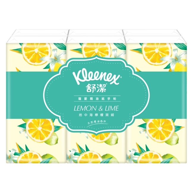 舒潔寵愛精油紙手帕 10抽X6入 玫瑰/檸檬/薰衣草 (隨機出貨不挑選)