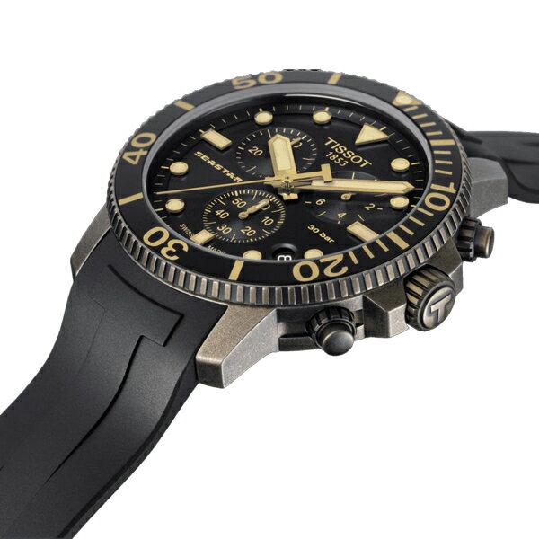 TISSOT天梭Seastar海星300米潛水錶 T1204173705101 3
