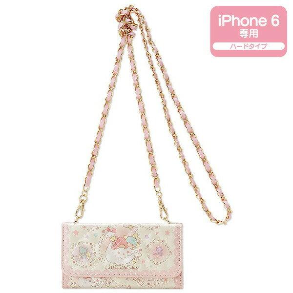 【真愛日本】15061100014 I6手機側背包-雙子星菱格 三麗鷗家族 Kikilala 雙子星 手機殼 手機套 正品 限量