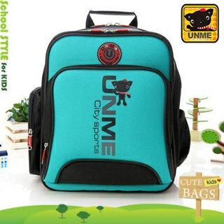 【UNME】台灣製專櫃書包/減壓書包/中高年級適用(綠色3077)【威奇包仔通】