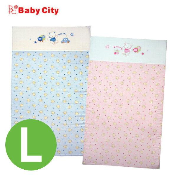 Baby City 寶貝熊乳膠床墊L(120*70cm) 藍/粉