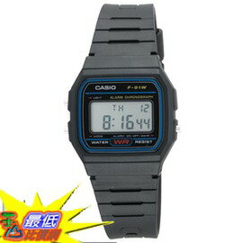 [美國直購] Casio 7 Year Battery Chronograph Watch,Low Ship, F91W-1_T01