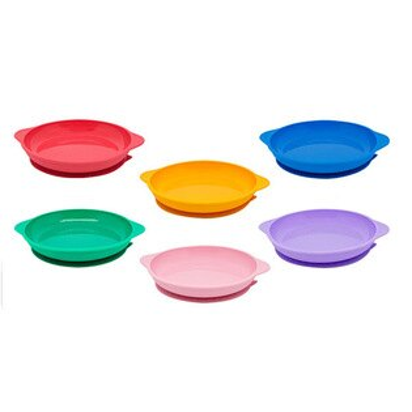 【加拿大MARCUS&MARCUS】動物樂園幼兒學習吸力餐盤(6款可選)