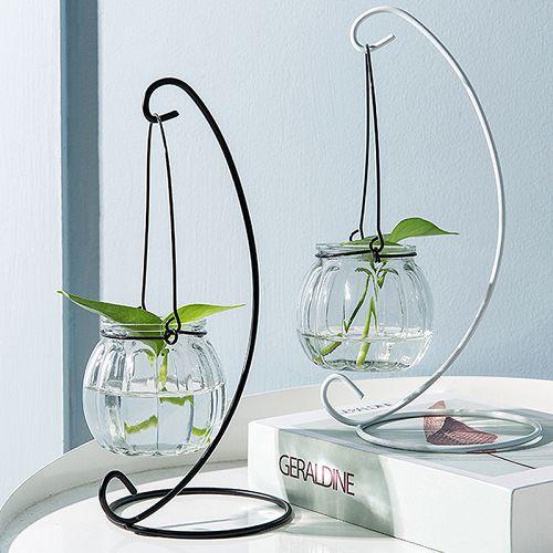 ✤宜家✤小清新懸掛玻璃花瓶 創意透明裝飾瓶 水耕植物花瓶 - 限時優惠好康折扣