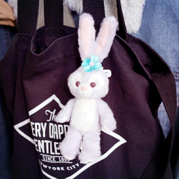 PGS7日本迪士尼系列商品-迪士尼樂園StellaLou史黛拉兔兔站姿吊飾鑰匙圈【SKZ7677】