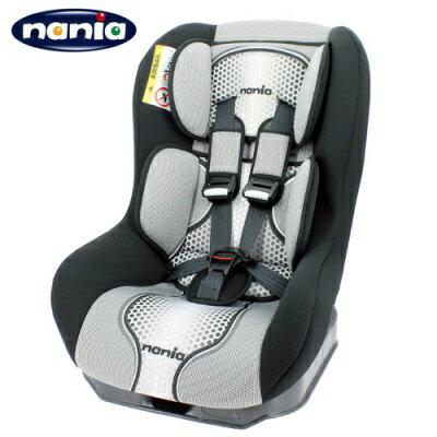 法國NANIA 納尼亞 0-4歲汽車安全座椅 POP系列-灰