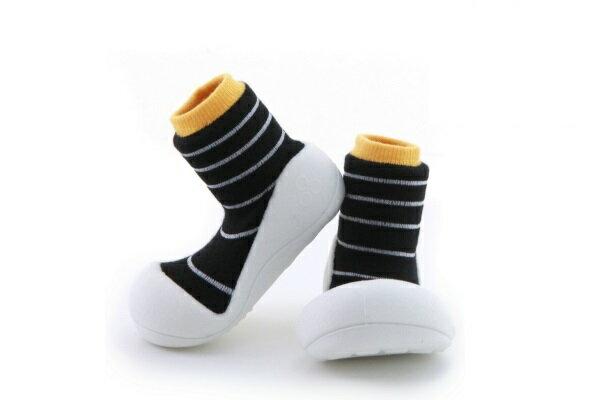 ★衛立兒生活館★韓國Attipas 快樂腳襪型學步鞋【香蕉牛奶】
