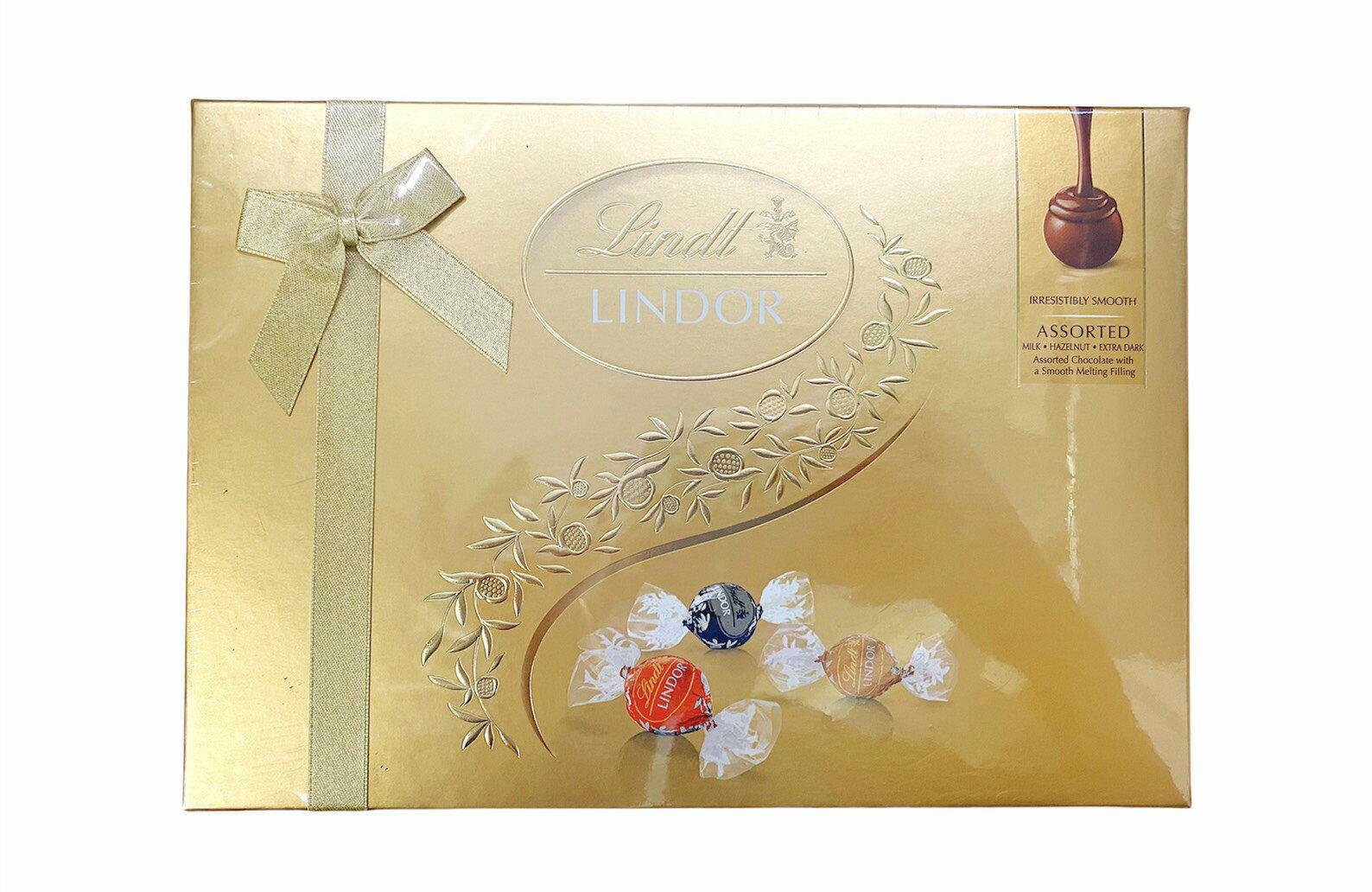 瑞士蓮 Lindor夾餡綜合巧克力禮盒 14入 168g