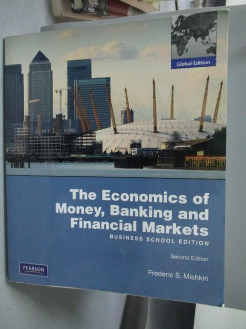 ~書寶 書T3/大學商學_YFQ~TheEconomics of Money Bankin