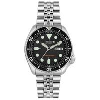 Seiko Scuba Diving Mens Stainless Steel Watch