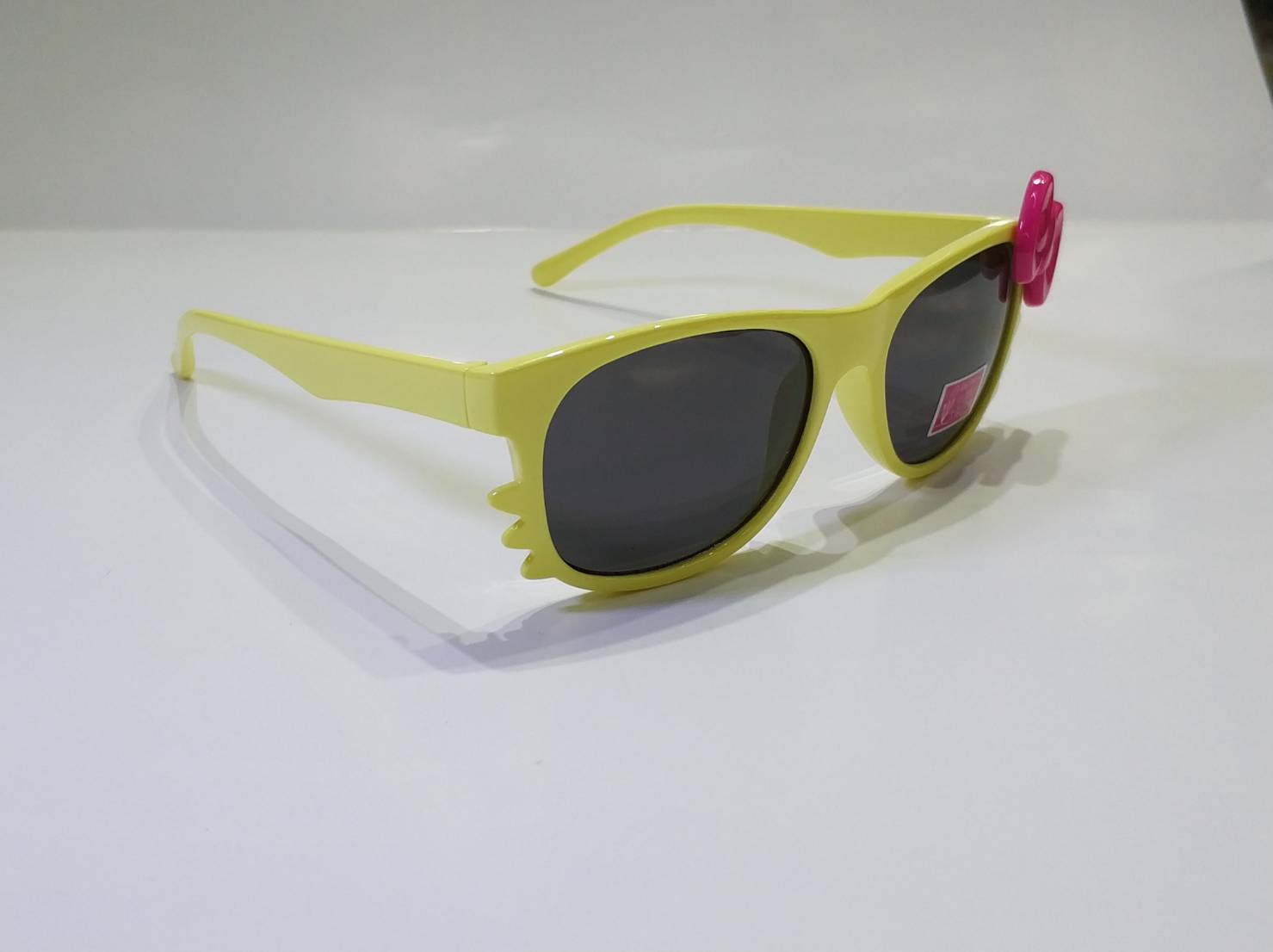 喵喵 貓咪 造型 兒童鏡框 太陽眼鏡 蝴蝶結 可愛造型太陽眼鏡  兒童眼鏡   購買此商品眼鏡布可以另加購價優惠只要1元