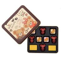 白色情人節禮物到日本 DISNEY 情人節限定 大學熊巧克力