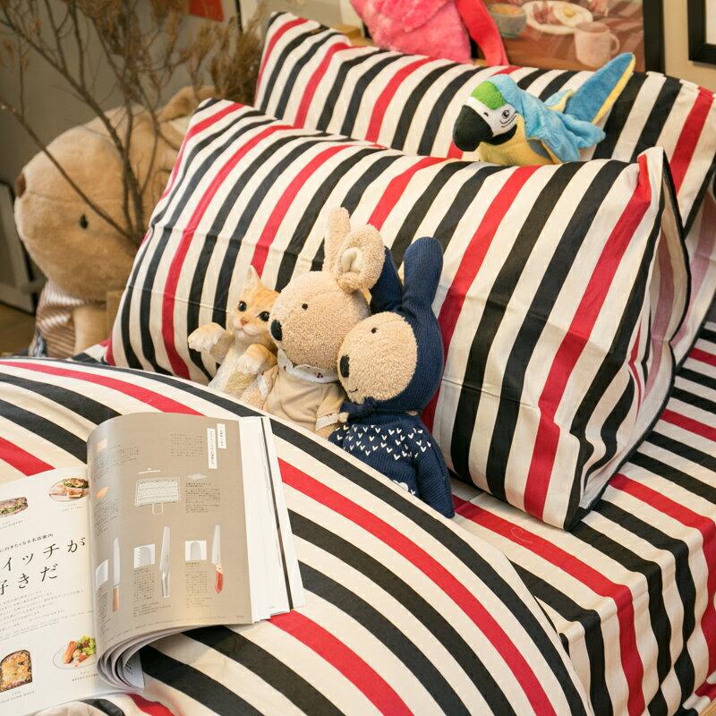 英國托歐風  床包/被套/兩用被/枕套 單品賣場 100%復古純棉