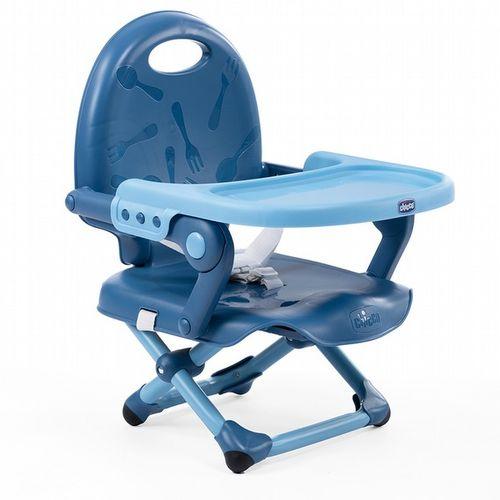 Chicco Pocket 攜帶式輕巧餐椅座墊-晴空藍#0372★衛立兒生活館★
