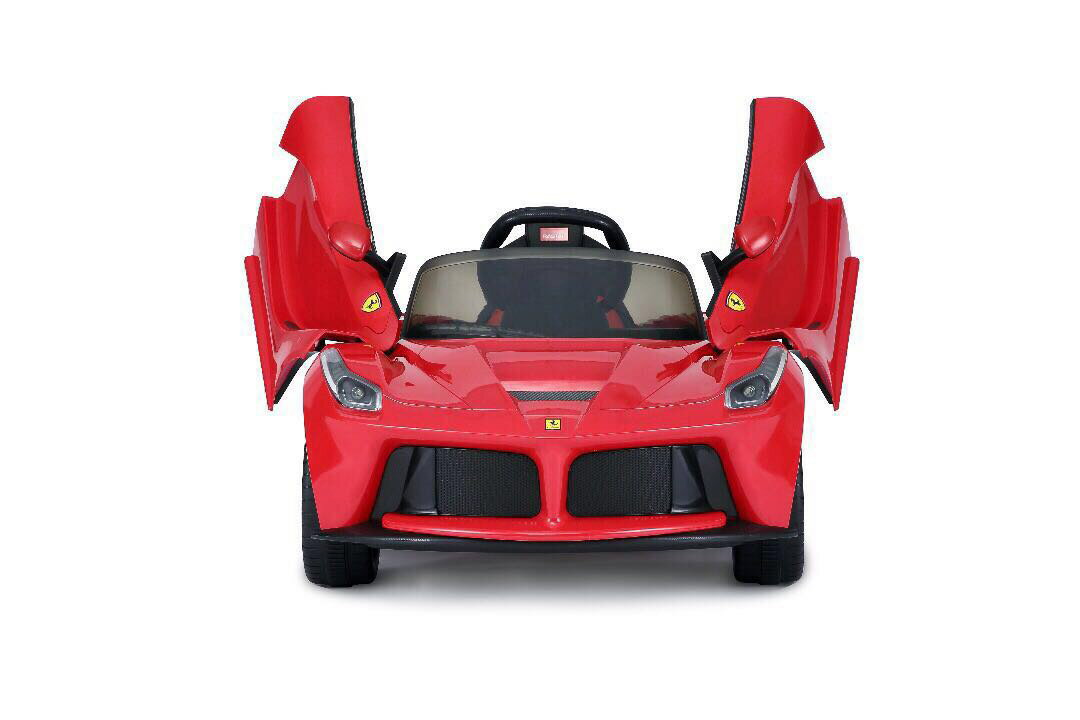 Red LaFerrari RC Kids Electric Ride-On Car Lights and Sound 2