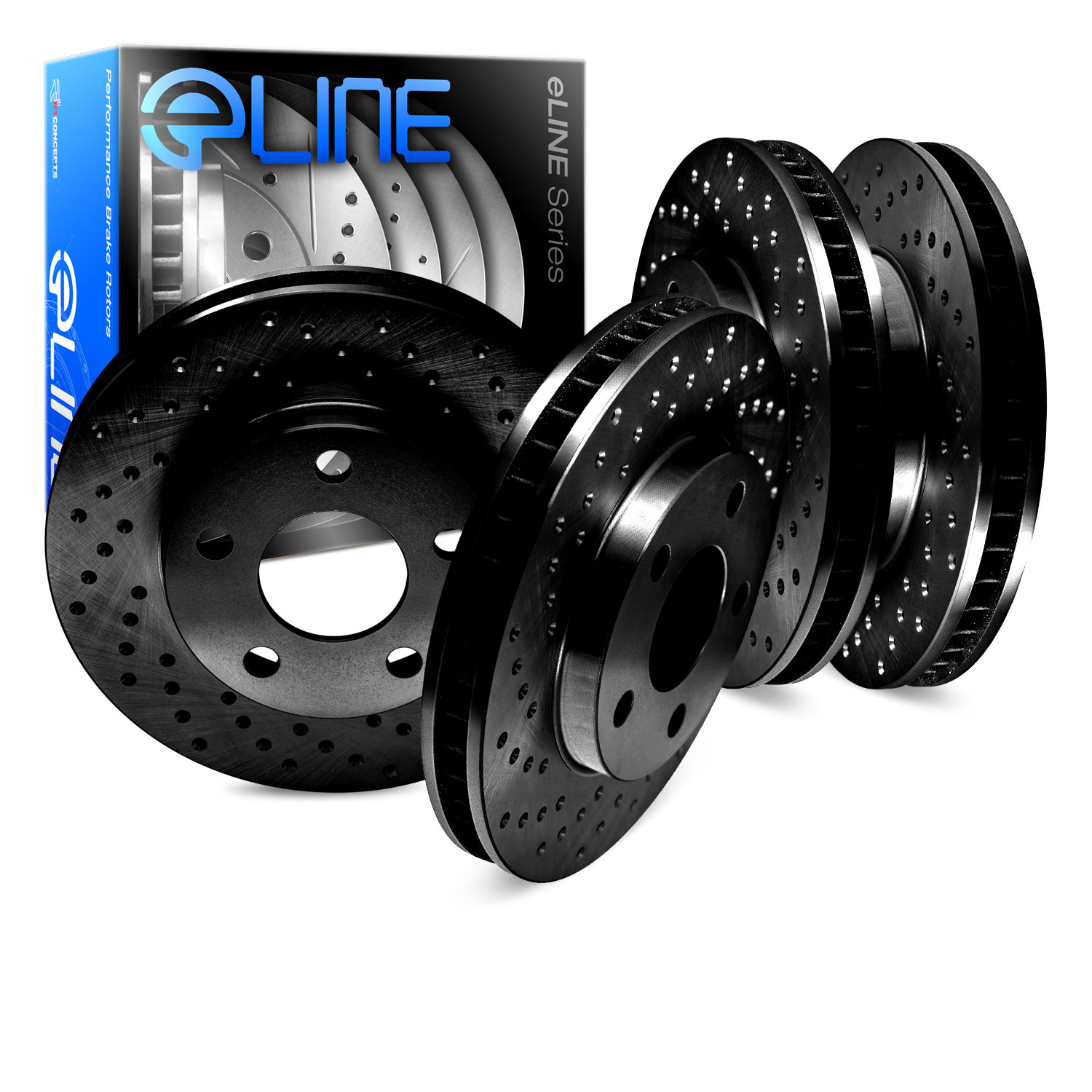 Note: Rotor Dia 288 mm 2003 For Audi A4 Quattro Front Disc Brake Rotors and Ceramic Brake Pads