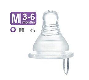 小獅王辛巴母乳記憶超柔防脹氣奶嘴-標準圓孔嬰兒(M)-1入-S6306