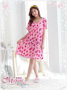 [瑪嘉妮Majani]中大尺碼睡衣-棉質居家服 睡衣 舒適好穿 寬鬆 有特大碼 特價299元 sp-210
